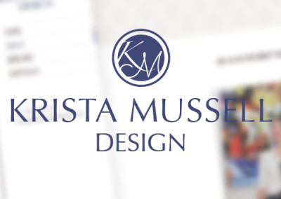 Krista Mussell Design – Website
